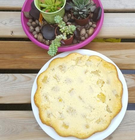 sysyinthecity.com gâteau semoule ananas