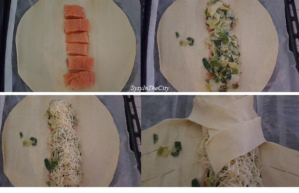etapes tresse saumon