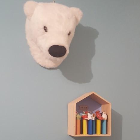 tête d'ours à accrocher