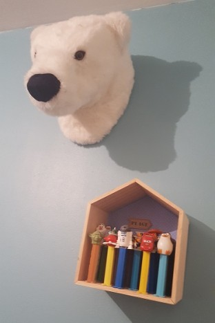 trophee ours chambre enfant
