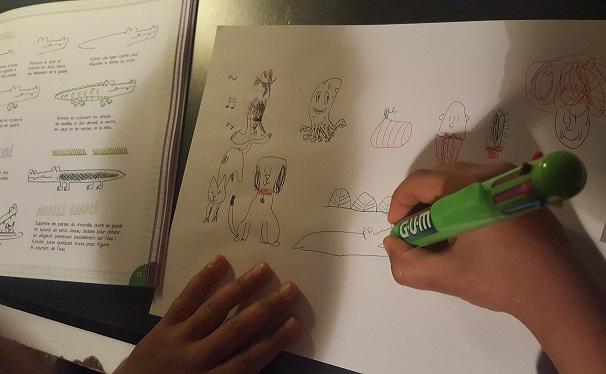 je dessine au stylo 4 couleurs fleurus sysyinthecity