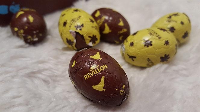 mini oeufs chocolats