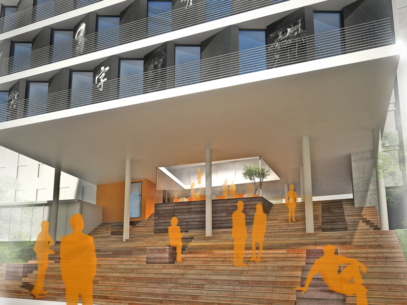 Studentenwohnheim Coburg  Realisierungswettbewerb Ankauf