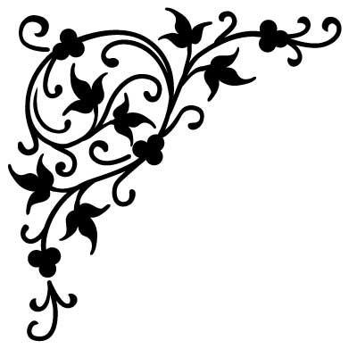 Szablon malarski, wielorazowy, wzór flora 192