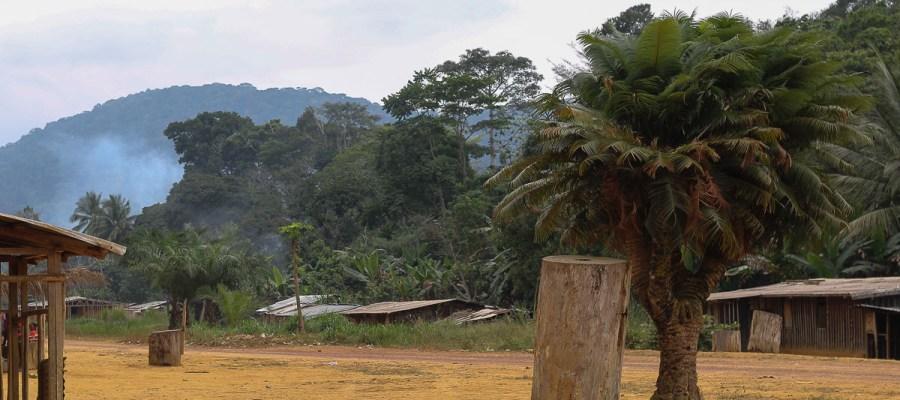 Mount Bengoué - najwyższy szczyt Gabonu