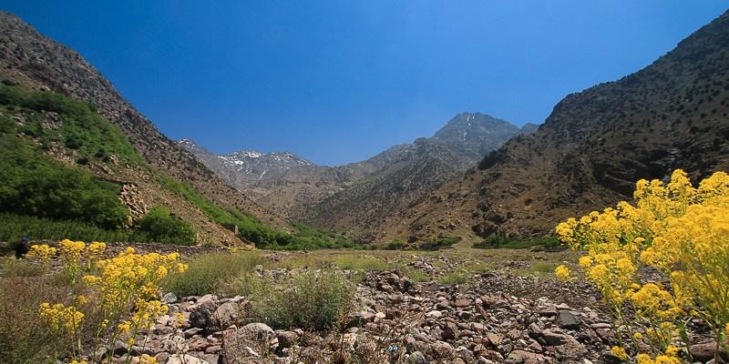 Maroko - Droga na Jebel Toubkal