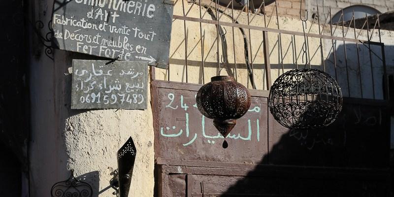 Maroko - Na targu