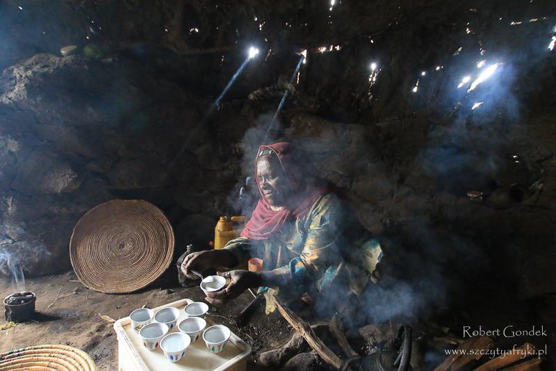 Góry Semien – Ceremonia parzenia kawy