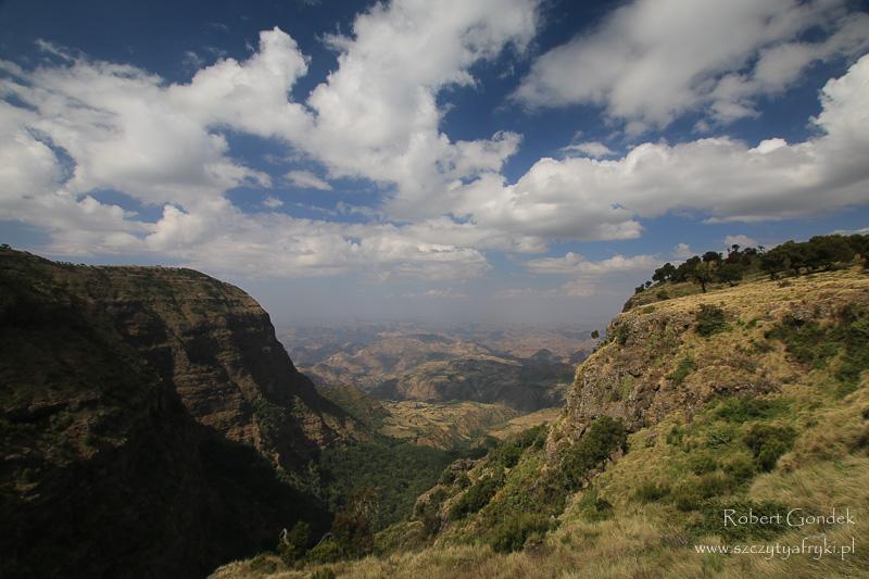 W drodze na szczyt w Etiopii