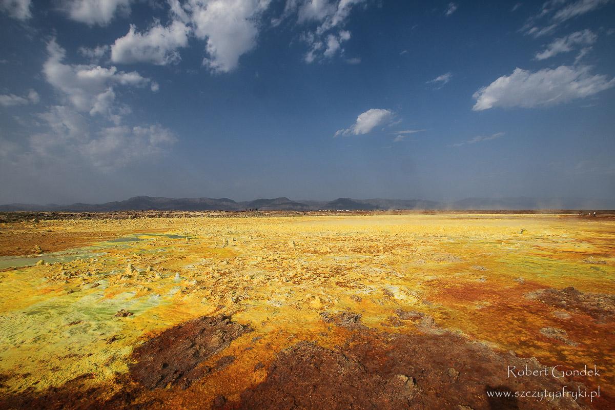 Dallol – najbardziej kolorowe miejsce w Etiopii