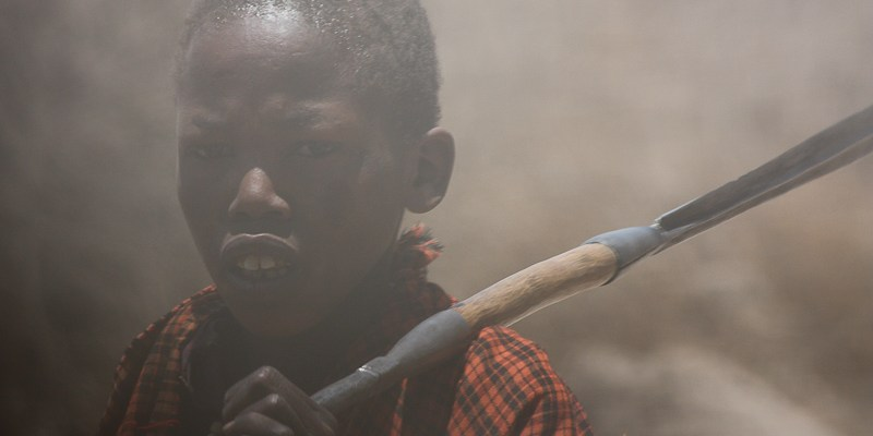 Masaj w Tanzanii