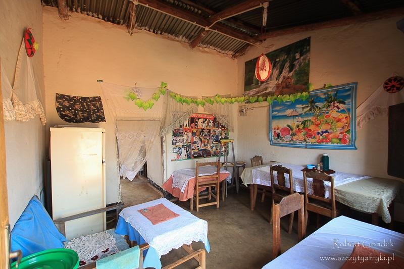 Informacje przed podróżą do Malawi - Restauracja w Malawi