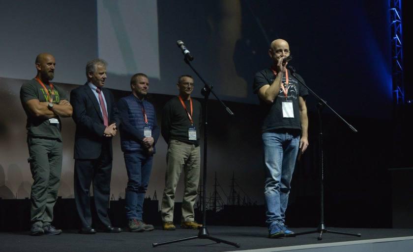 Wyróżnienie na Kolosach. Wyczyn Roku 2016 - fot. Maurycy Śmierzchalski
