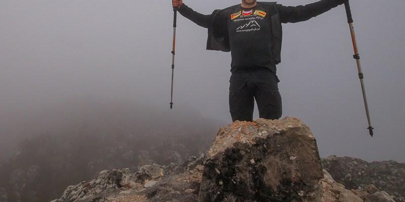 Mount Binga - na najwyższej górze Mozambiku