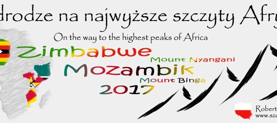 Podróż na najwyższe góry Zimbabwe i Mozambiku
