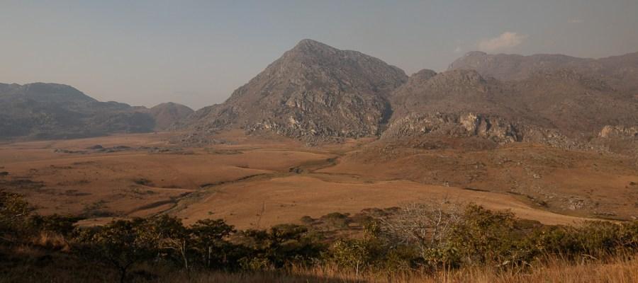 Widok ze schroniska w Parku Narodowym Chimanimani