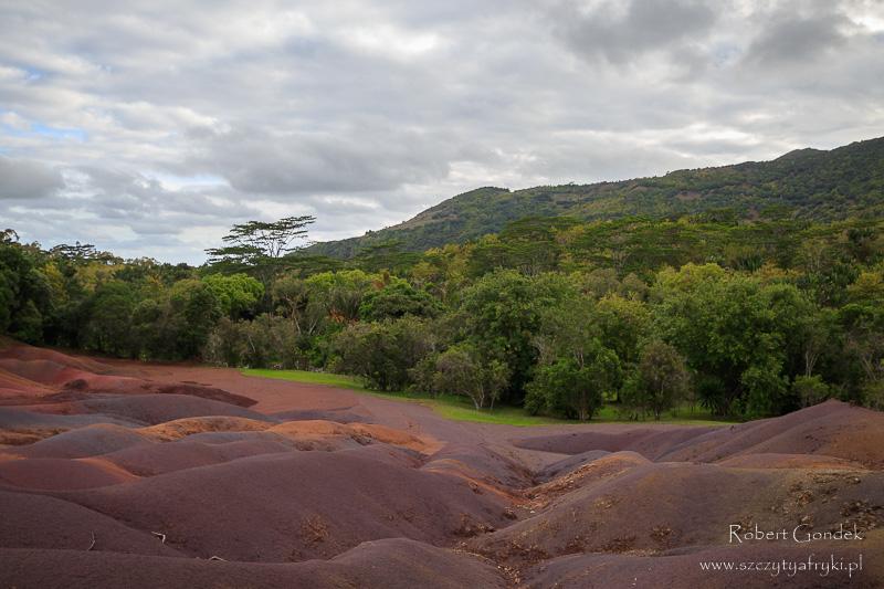 Ziemia siedmiu kolorów w Chamarel