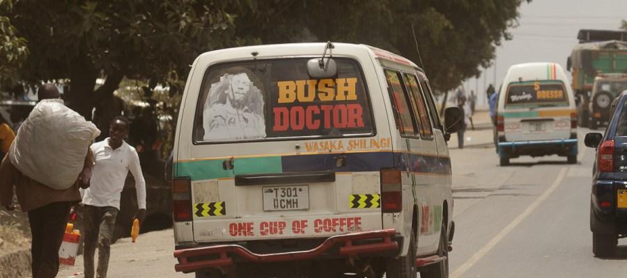 Dala dala – najpopularniejszy środek transportu w Tanzanii