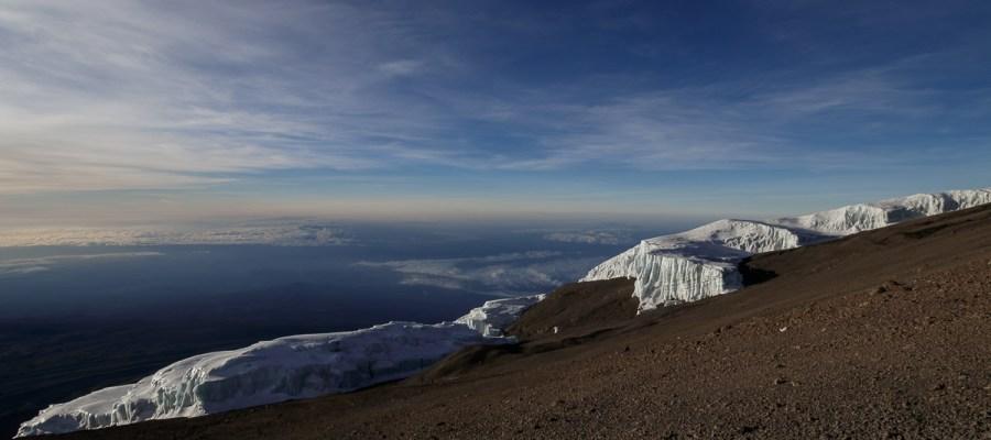 Lodowiec na Kilimandżaro