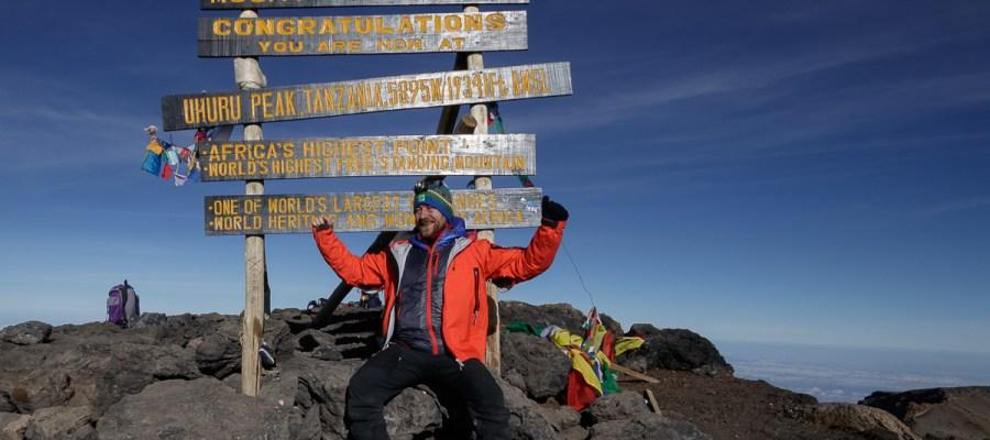 Na szczycie Kilimandżaro