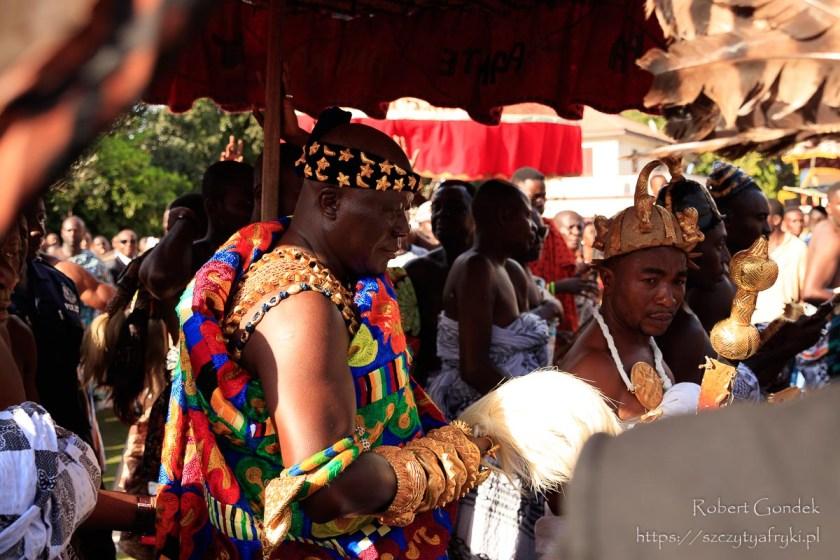 Festiwal Akwantukese – Król Aszanti Otumfuo Nana Osei Tutu II