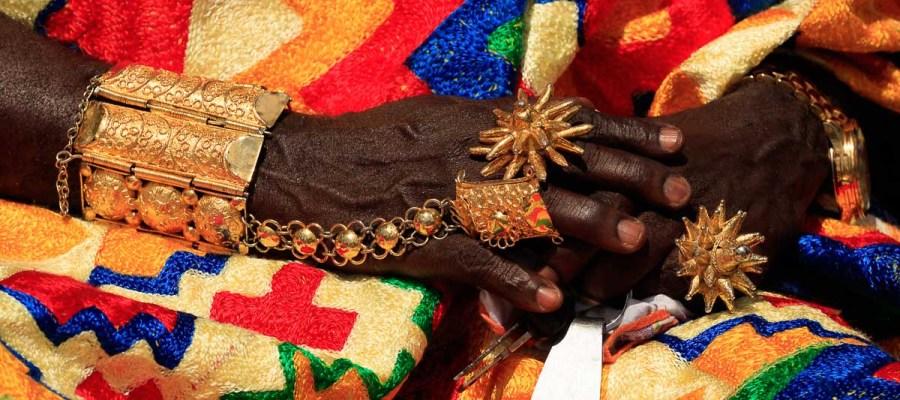 Festiwal Akwantukese – ozdoby wodzów