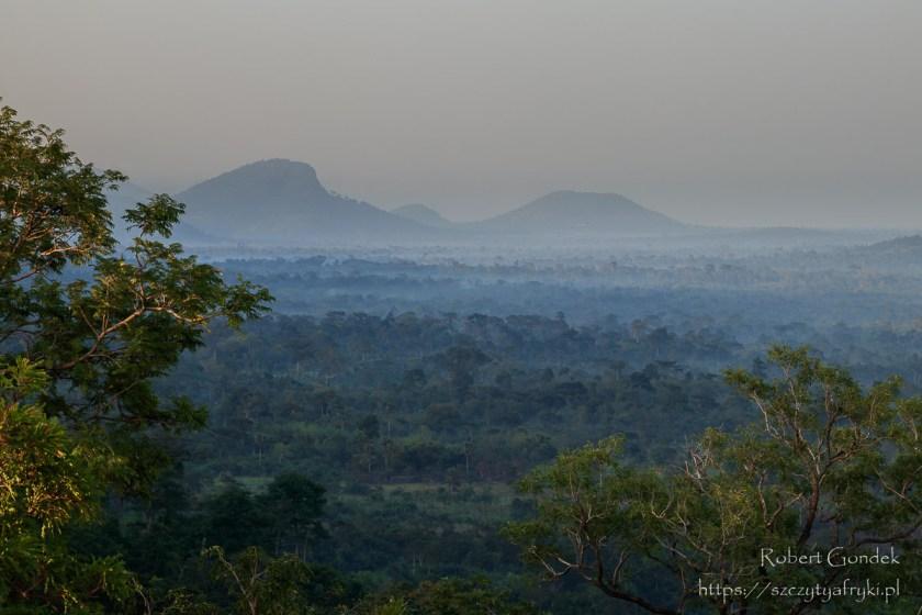 Ghana – widok z góry
