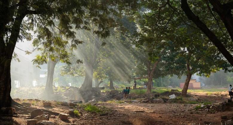 Magiczny poranek w Ghanie
