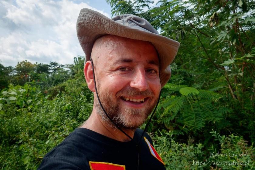 Przed trekkingiem na Mount Aduadu