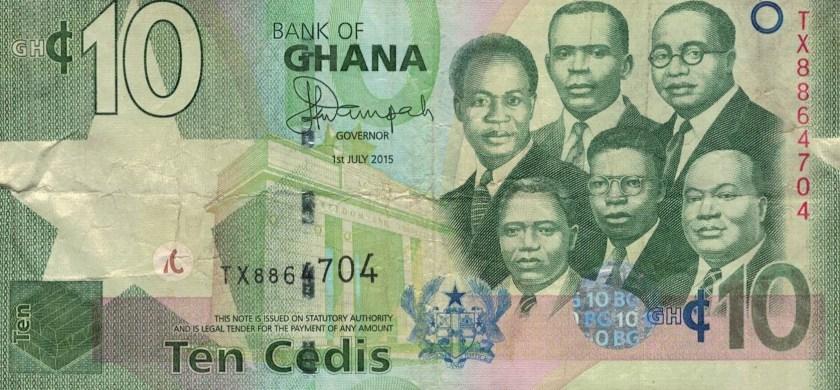 Podróż do Ghany – informacje praktyczne - waluta w Ghanie