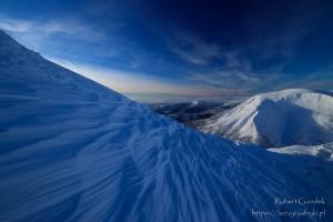Bajeczna zima na Śnieżce