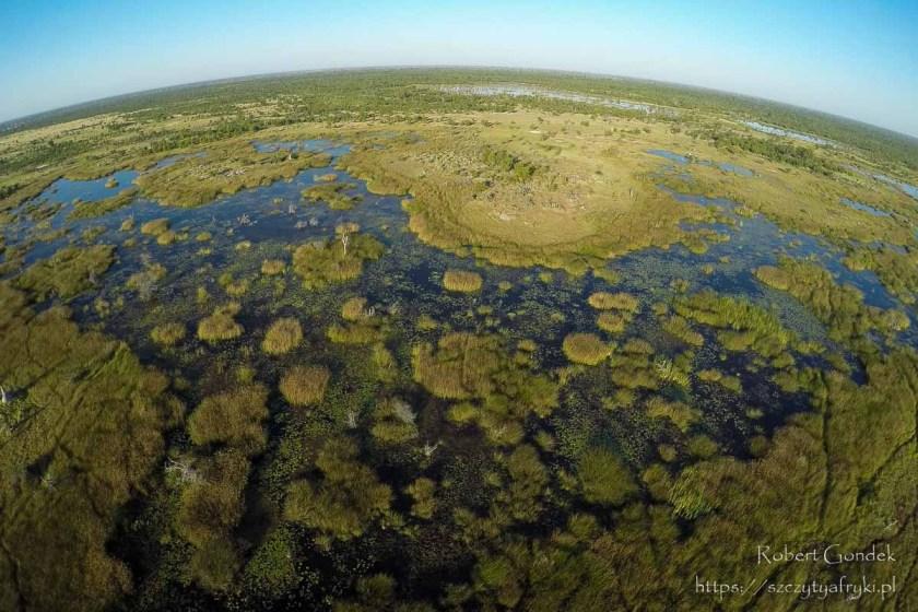 Najciekawsze miejsca w Afryce - Delta rzeki Okawango w Botswanie