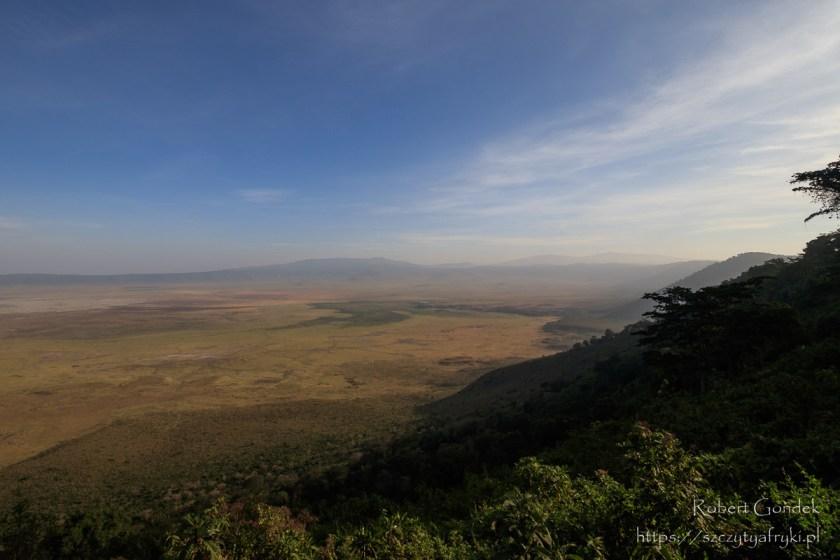 Krater Ngorongoro w Tanzanii