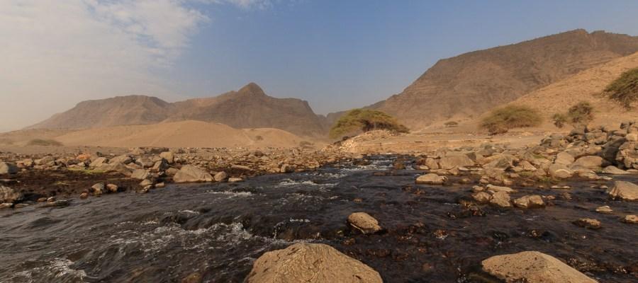 Rzeka Saitoti w Tanzanii