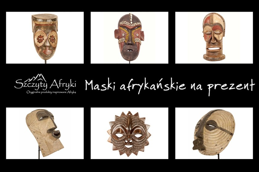 Maska afrykańska na prezent