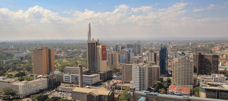 Pierwsze chwile w Kenii