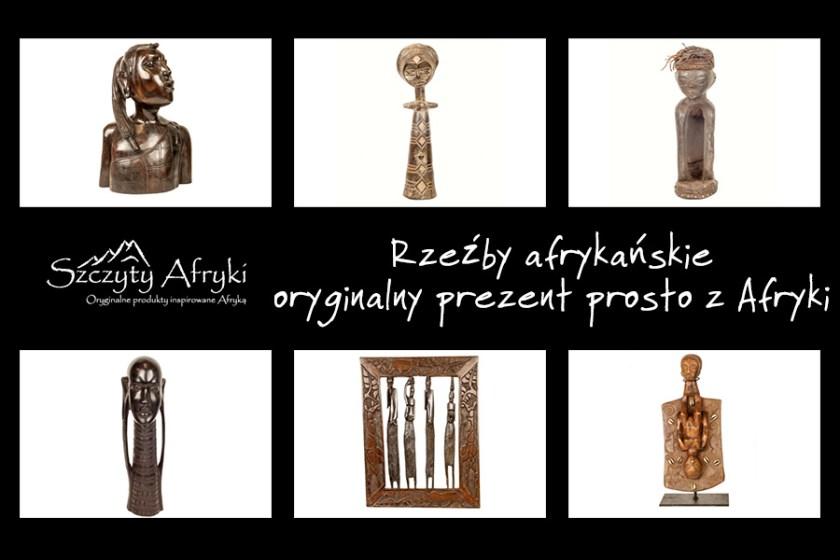 Rzeźby afrykańskie - oryginalny prezent prosto z Afryki