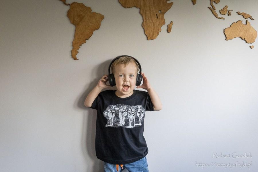 T-shirt z zebrami dla chłopca