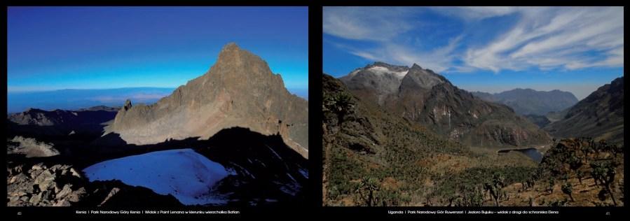 Książka W drodze na najwyższe szczyty Afryki - przykladowe zdjęcia