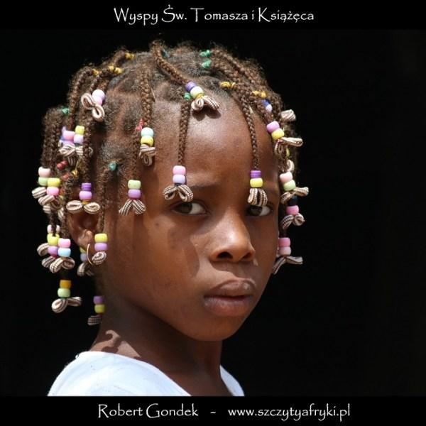 Portret dziewczynki z Wysp Świętego Tomasza i Książęcej
