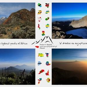 Zdjęcia afrykańskich gór