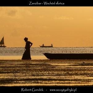 Zdjęcie o poranku na Zanzibarze