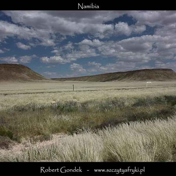 Namibia - bezkresne krajobrazy