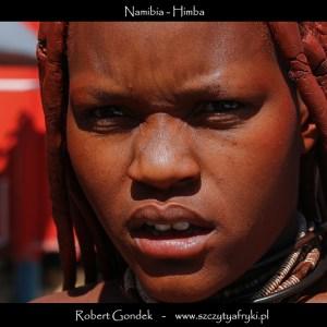 Zdjęcie kobiety Himba z Namibii