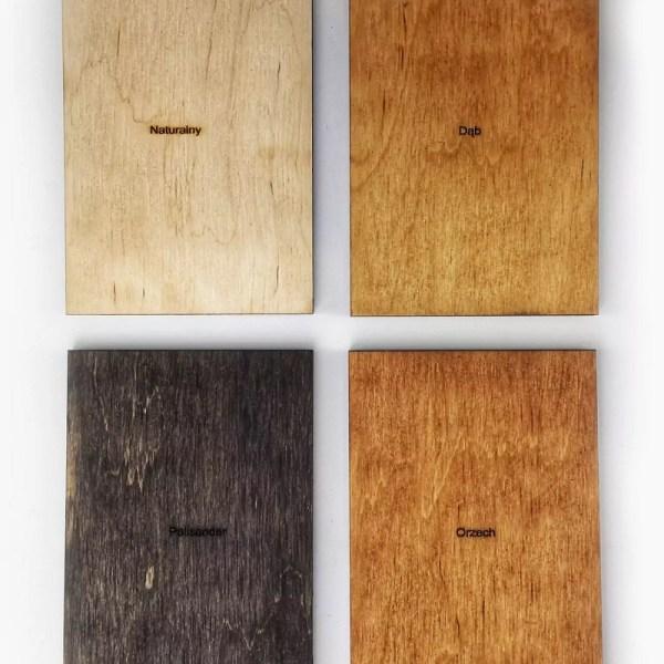 Drewniana mapa świata na ścianę - granice - próbnik koloró