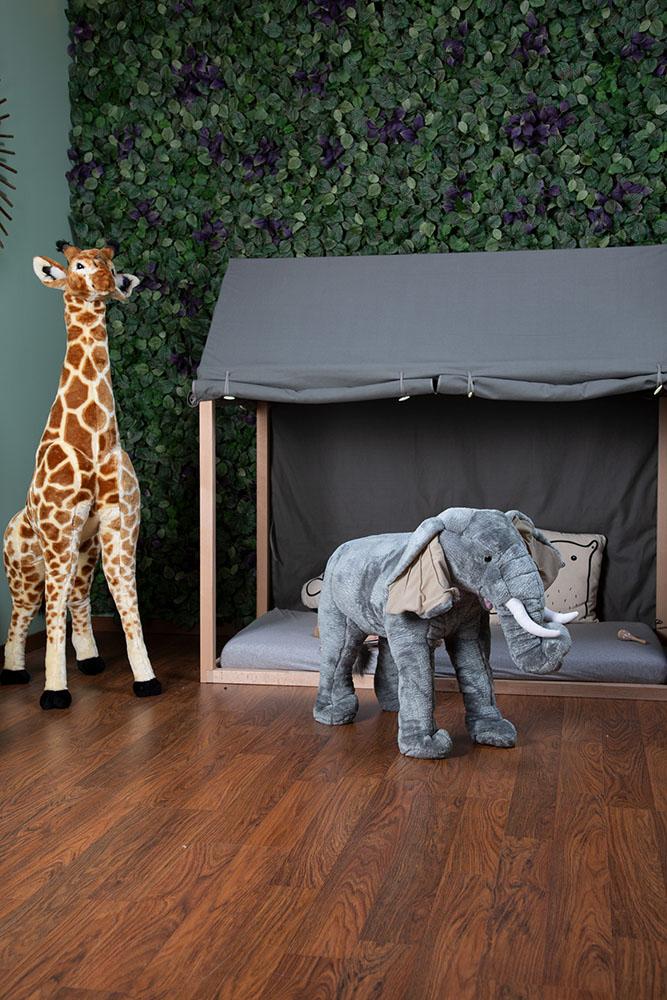 Duży słoń - dekoracja do pokoju dla dziecka
