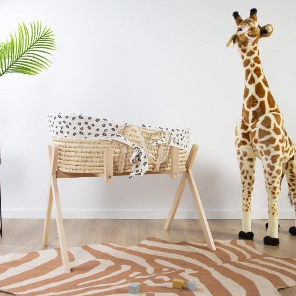 Ogromna żyrafa zabawka - dekoracja pokoju dla dzieci