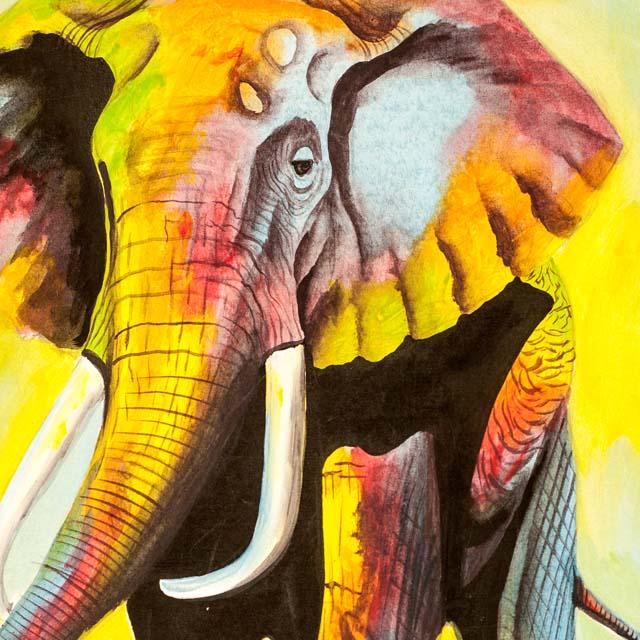 Piękny afrykański obraz na płótnie