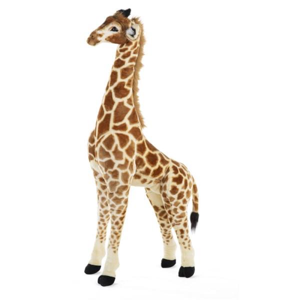 Wielka żyrafa afrykańska - dekoracja zabawka do pokoju dziecięcego
