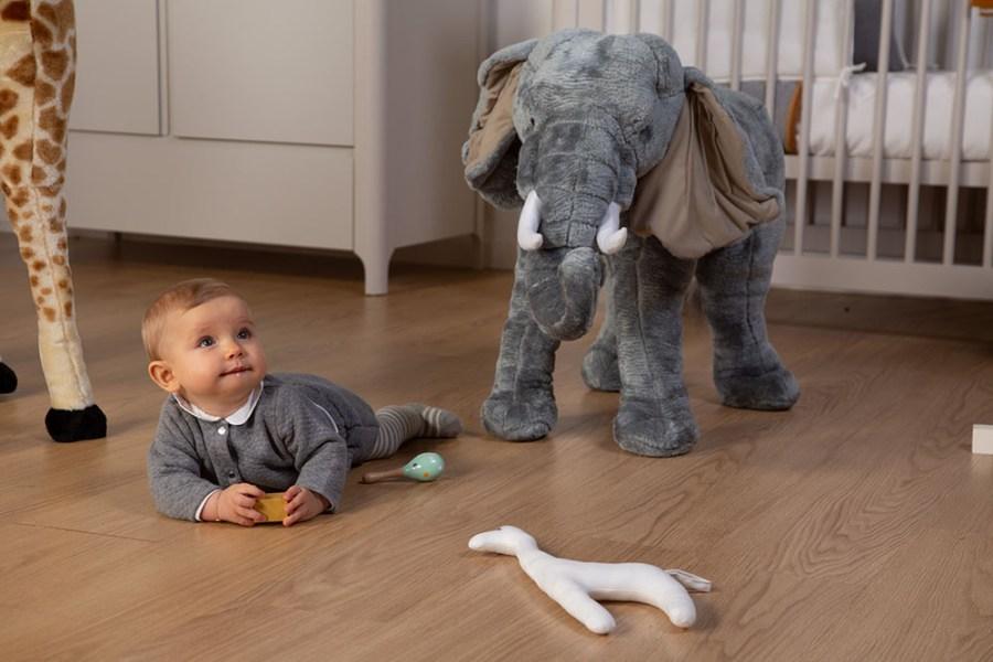 Wielki słoń - dekoracja do pokoju dla dziecka